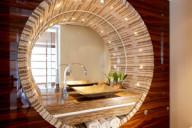 décor de salle de bain mosaique contemporaine