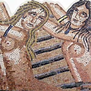 Mosaique gréco-romaine traditionnelle