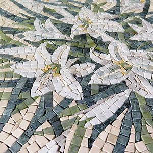table de mosaique pour jardin