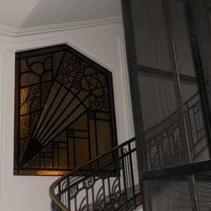 Restauration de mosaique Belle Epoque