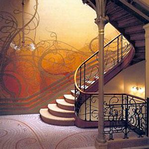 mosaique de style Art-Nouveau
