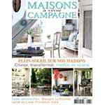 Article sur la mosaique par le magazine Maison à vivre Campagne, aout 2014