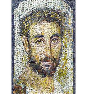 mosaique de style byzantin
