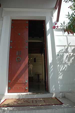 Entrée du Musée Kerylos