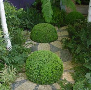 Création de jardin et mosaique